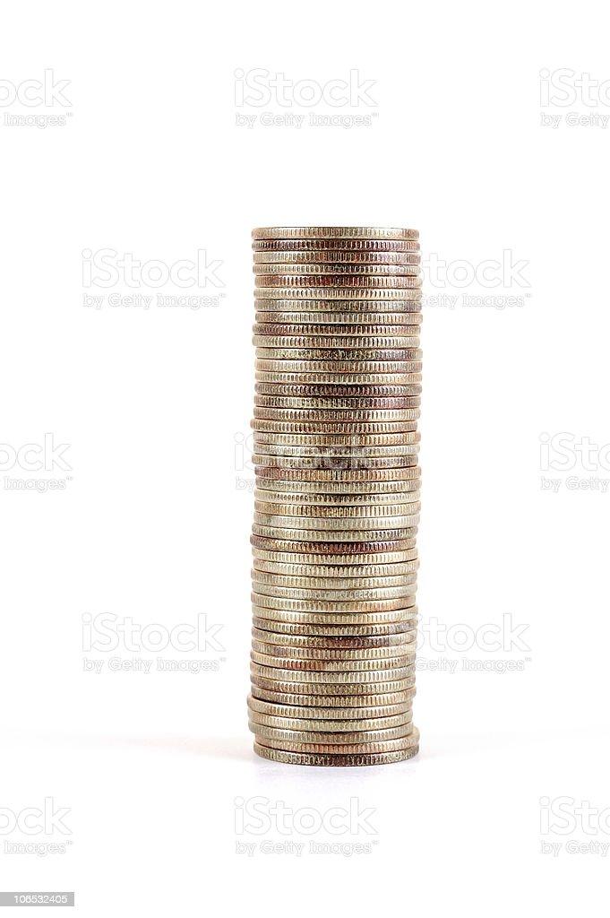 coinstack stock photo
