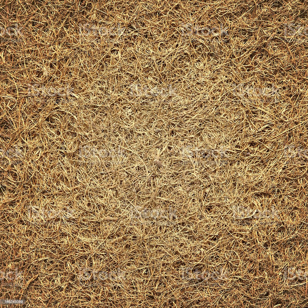 Coir mat texture stock photo