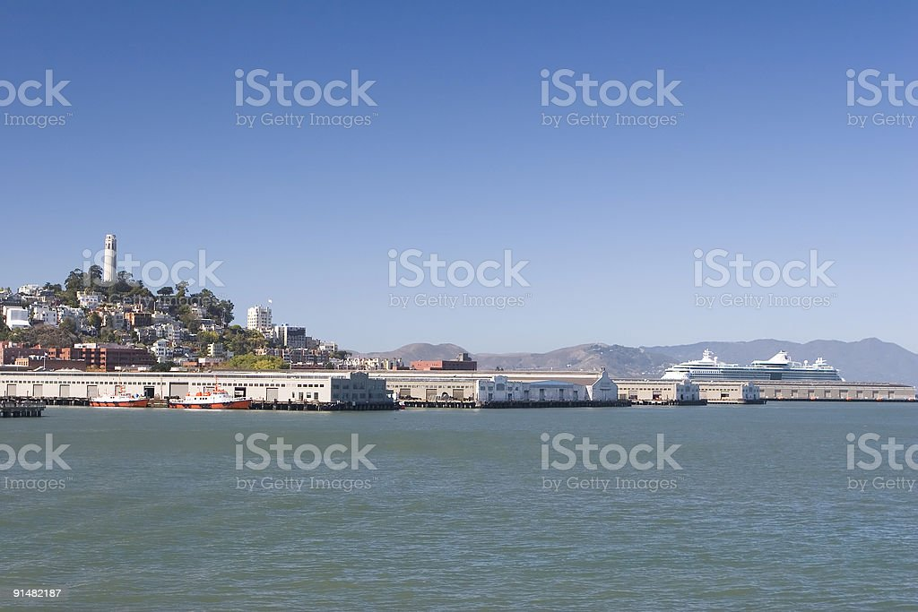 Coit and Cruise royalty-free stock photo
