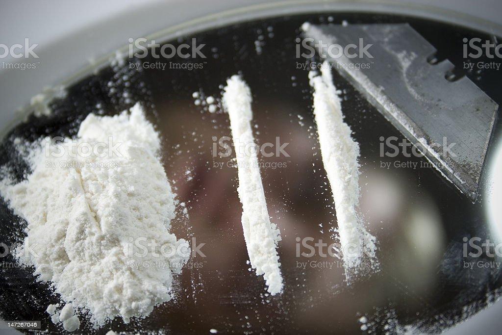 Coke addict stock photo