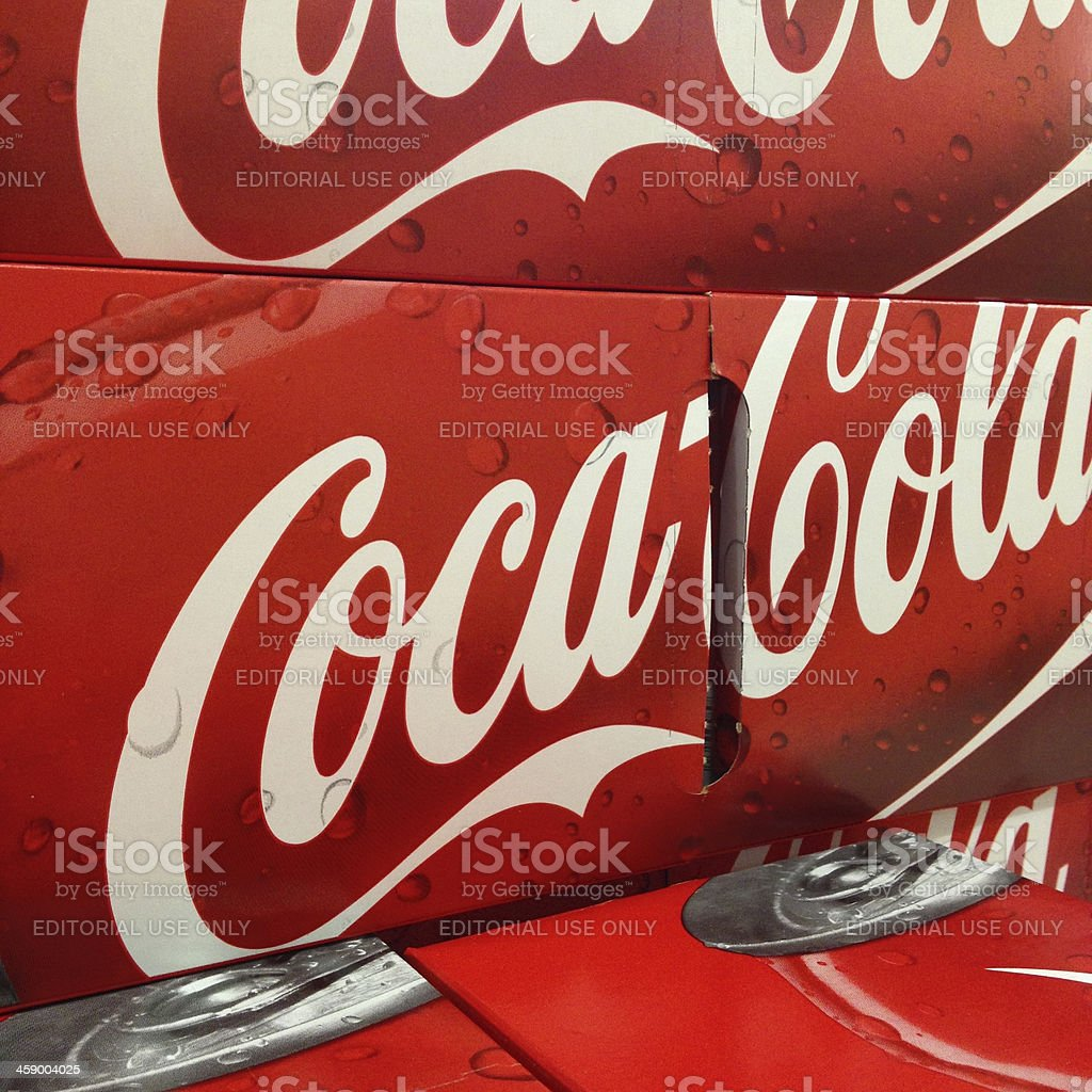 Coca Cola stock photo