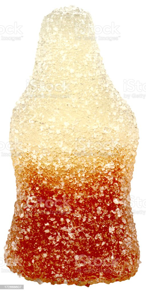 Cola Bottle Sweet stock photo
