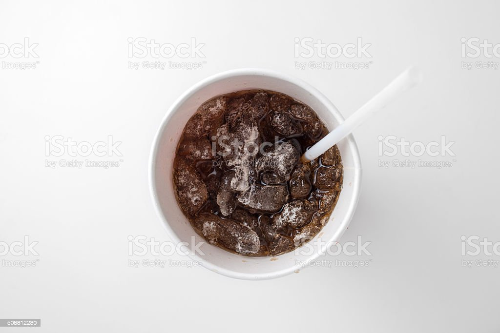cola cup stock photo