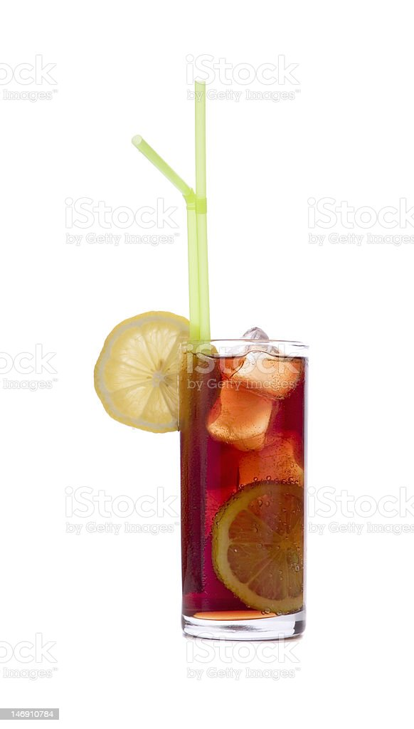 Cola Drink or Pimms royalty-free stock photo