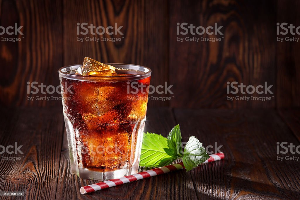 Cola drink. stock photo