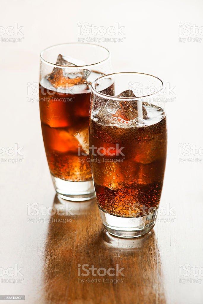 Cola - soda drink stock photo