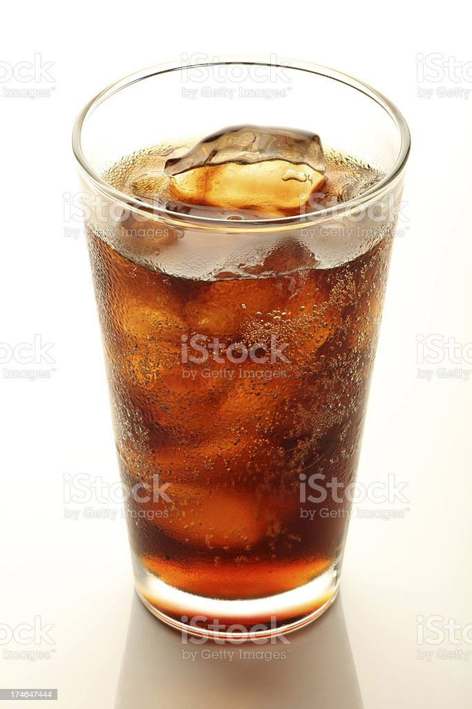 Cola,Soft drink royalty-free stock photo