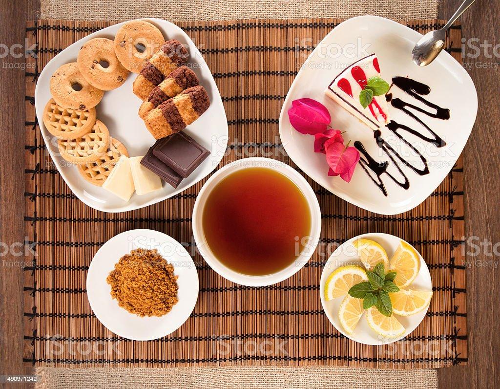 colazione stock photo