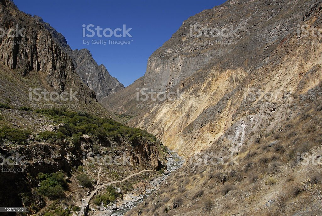 Colca canyon royalty-free stock photo