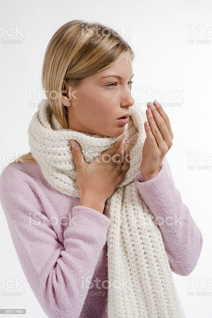 Cold and Flu royalty-free stock photo