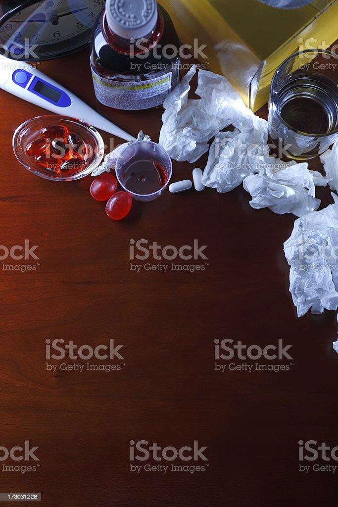 Cold and Flu Season royalty-free stock photo