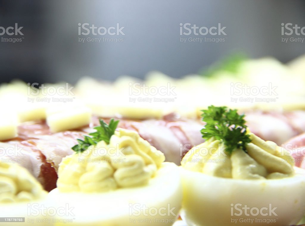 Cold appetizer. stock photo