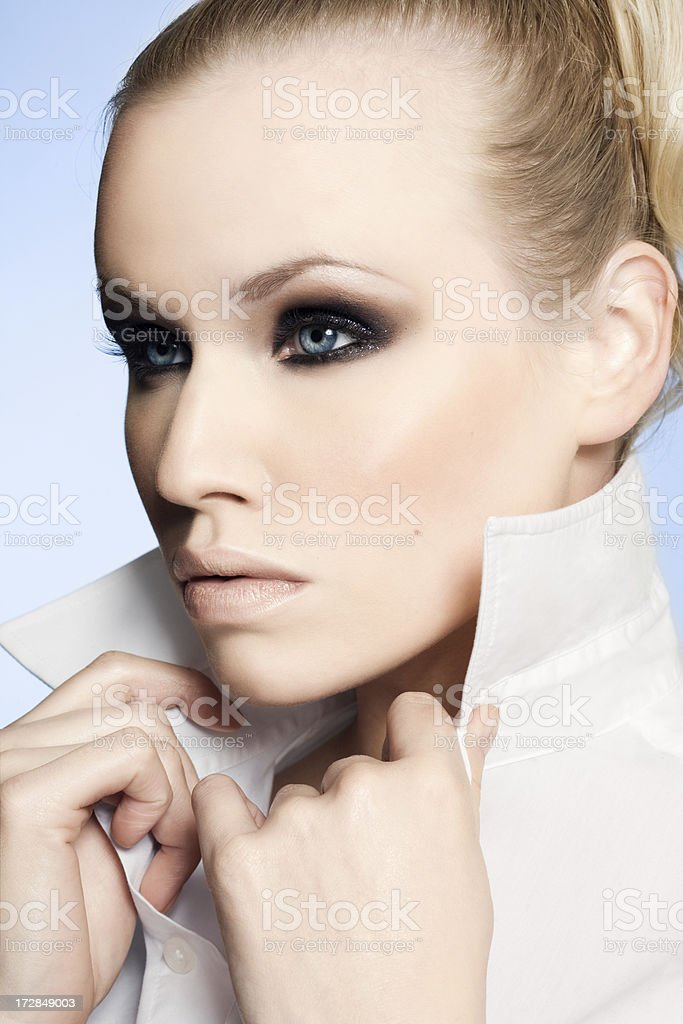 Cold Beauty royalty-free stock photo