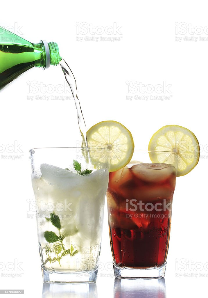 Cold beverage royalty-free stock photo