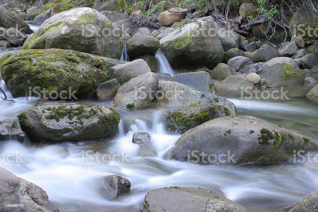 Cold Canyon Creek royalty-free stock photo