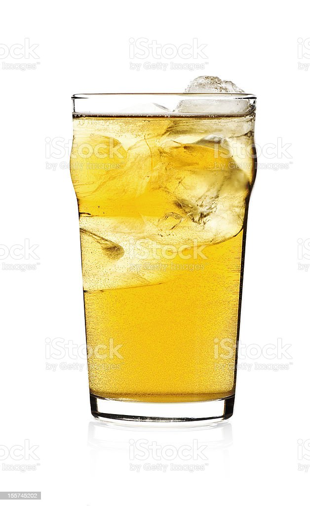 Cold Cider stock photo