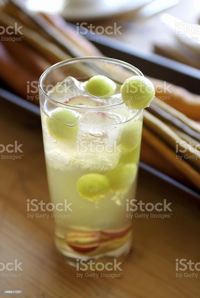 Cold cocktail stock photo