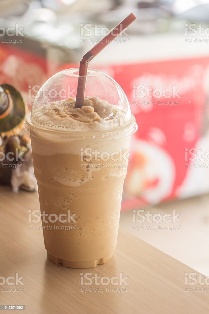 Cold Coffee  Frappe stock photo