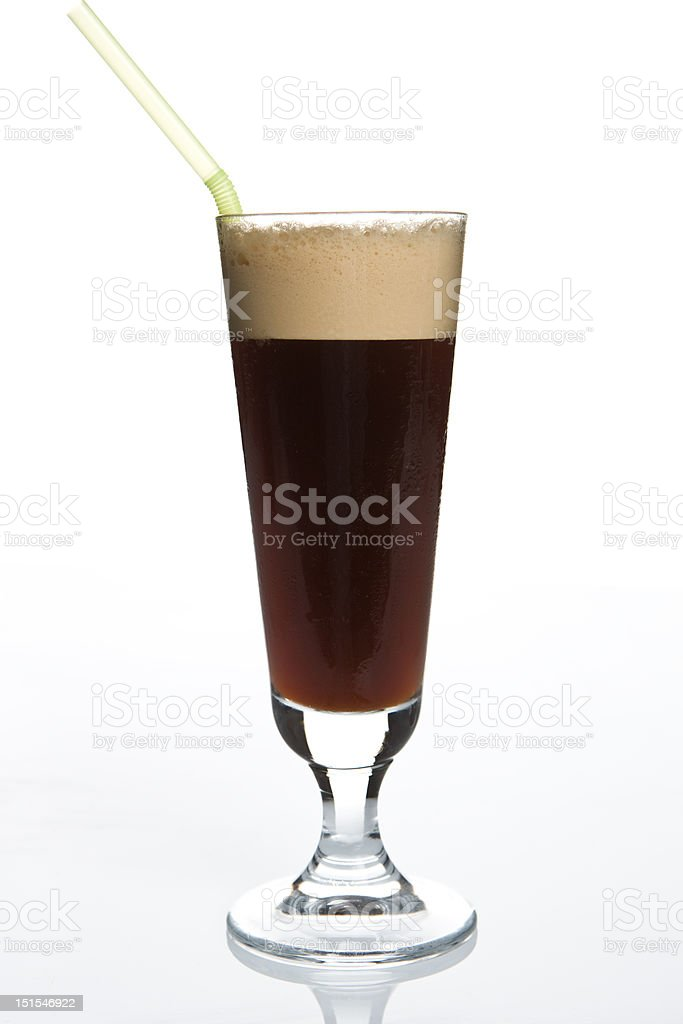 Cold coffee royalty-free stock photo