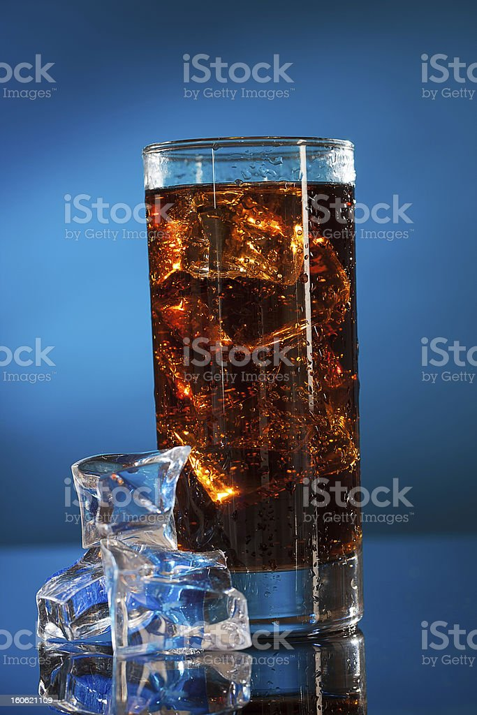 Cold Cola royalty-free stock photo