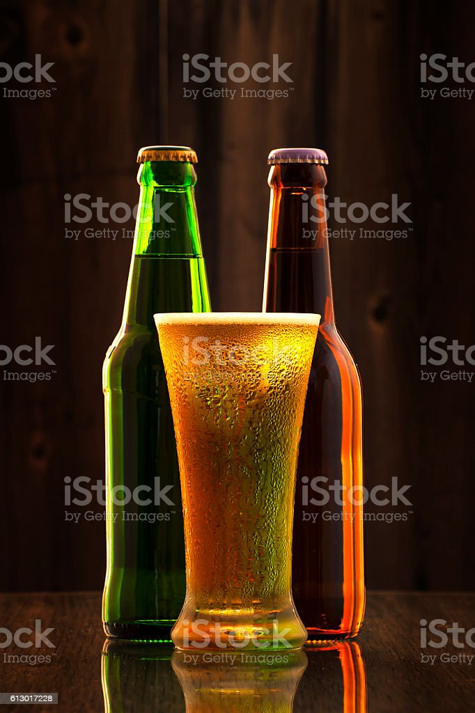 Cold Craft Beer stock photo