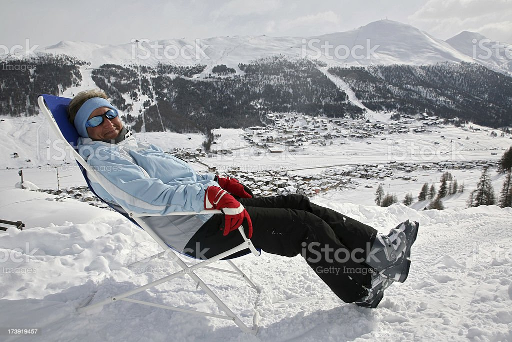 Cold deck royalty-free stock photo