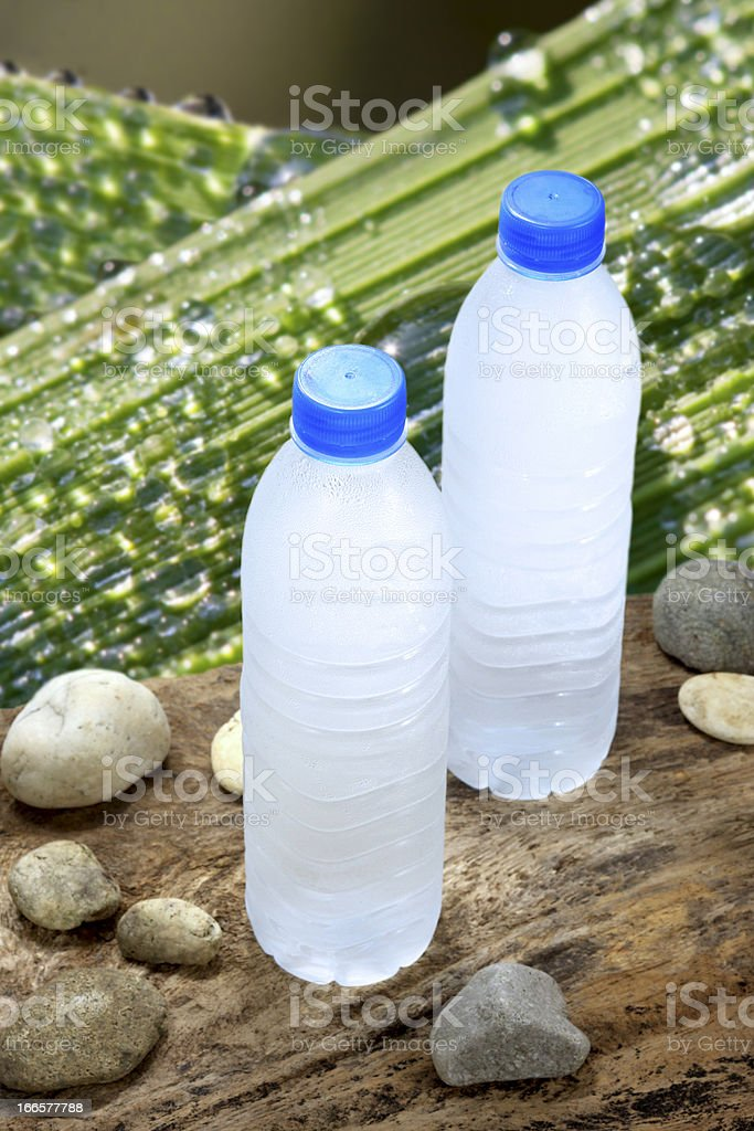 Cold drinking water royalty-free stock photo