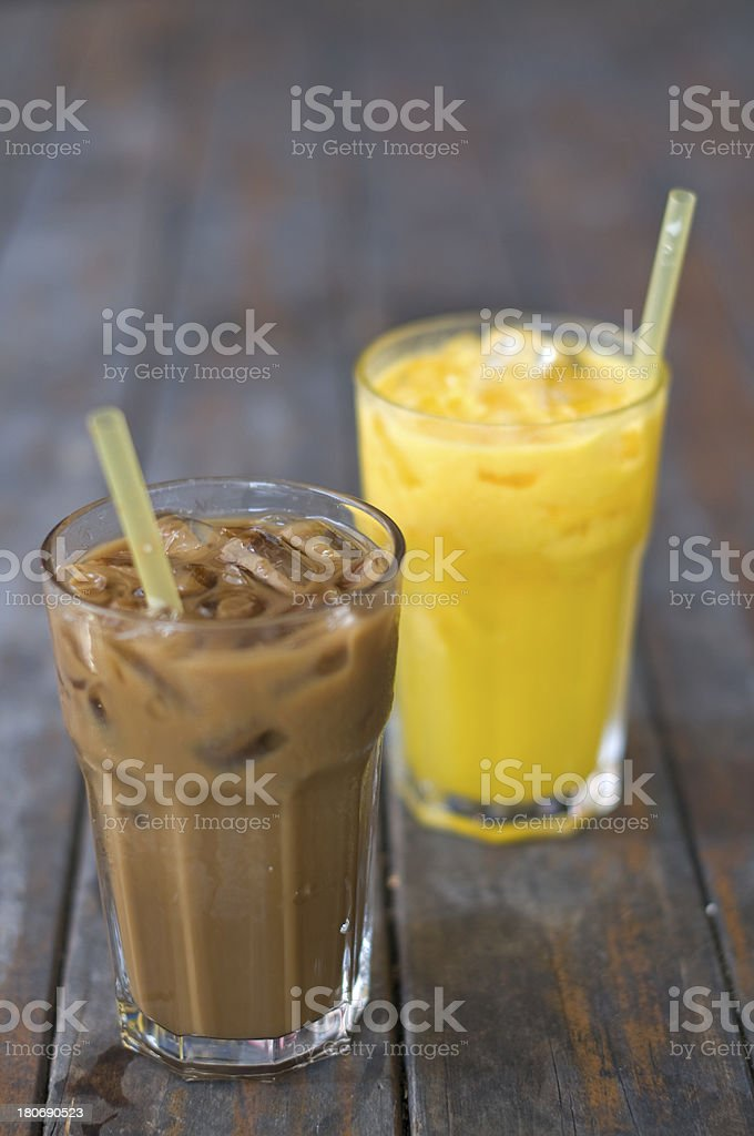Cold drinks stock photo