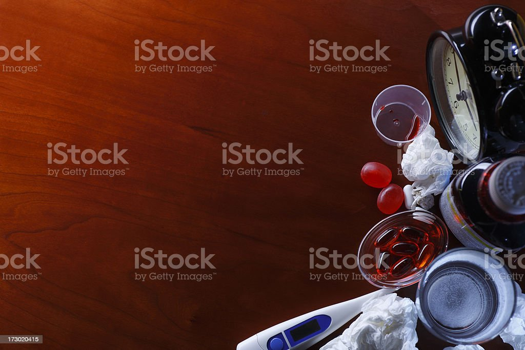 Cold & Flu Season royalty-free stock photo