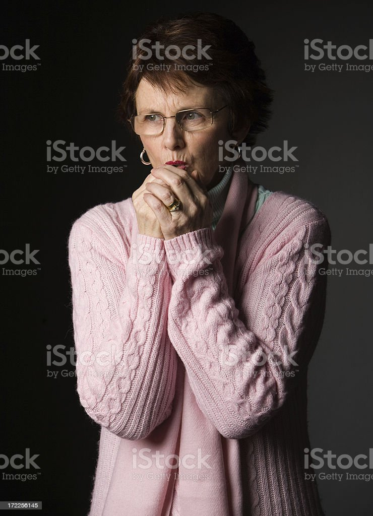 Cold Hands royalty-free stock photo