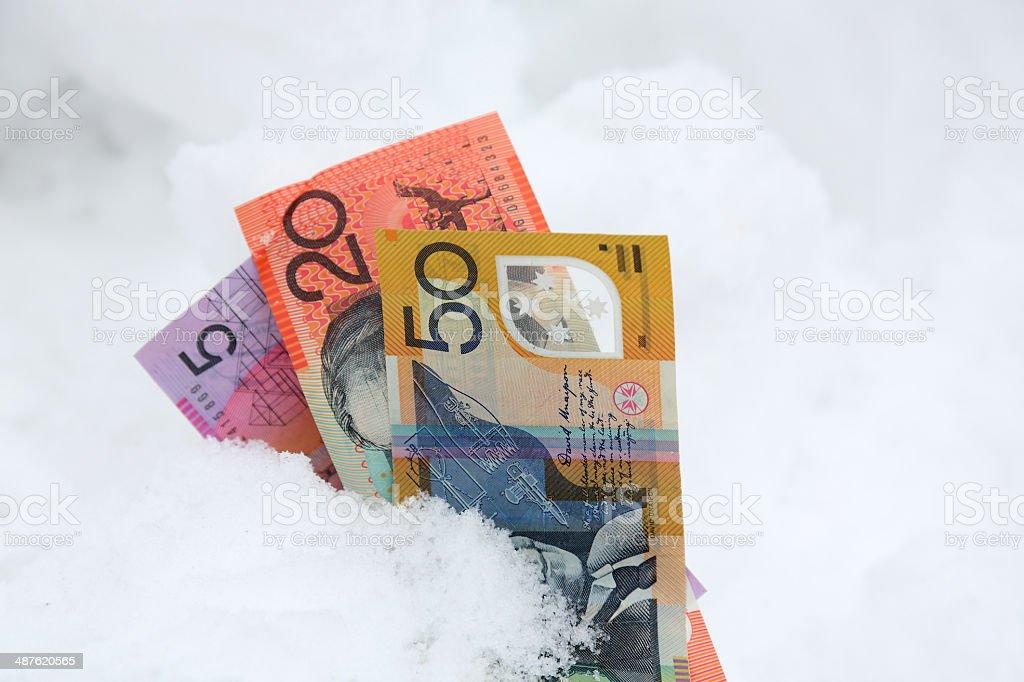 Cold Hard Cash stock photo