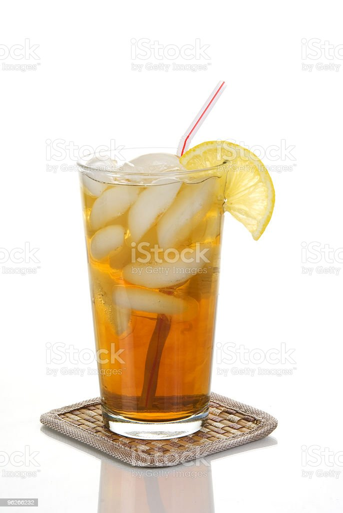 Cold Iced Tea royalty-free stock photo