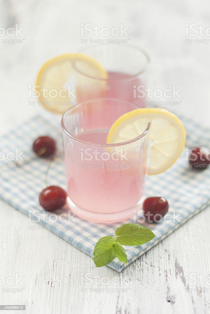 Cold Lemonade Drink royalty-free stock photo
