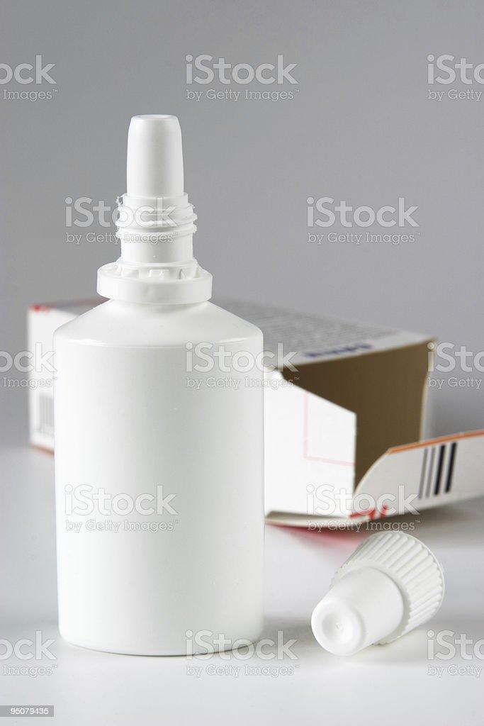 Cold medicine royalty-free stock photo