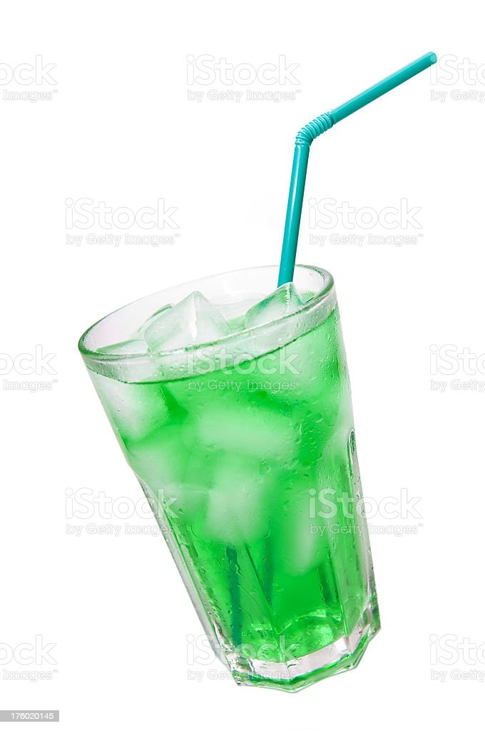 Cold mint stock photo
