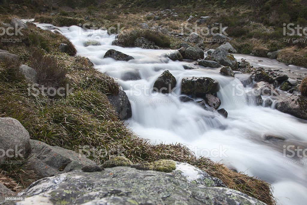 Cold Mountain Stream royalty-free stock photo