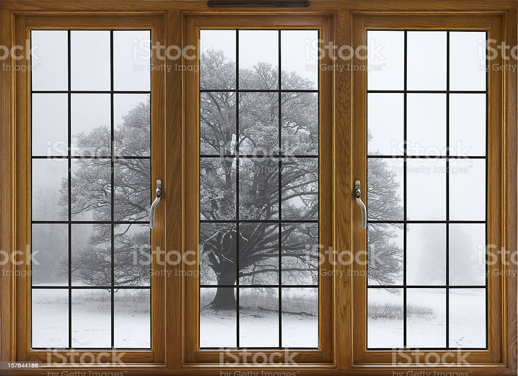 cold outside royalty-free stock photo