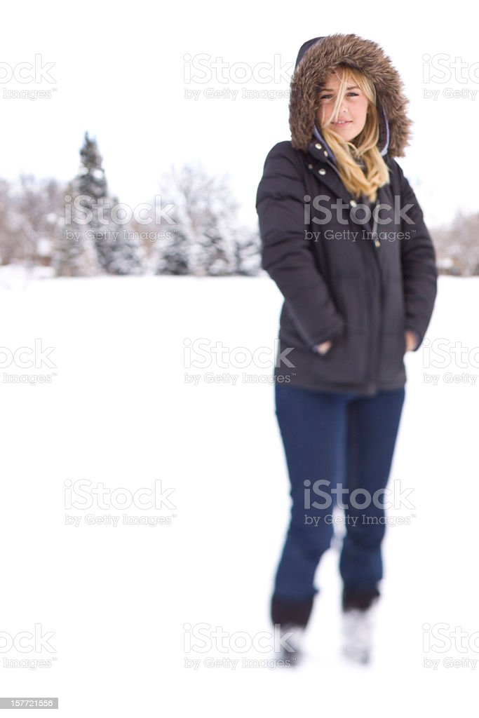 cold outside stock photo