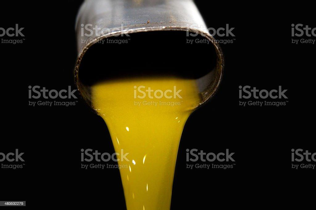 cold pressed olive oil stock photo