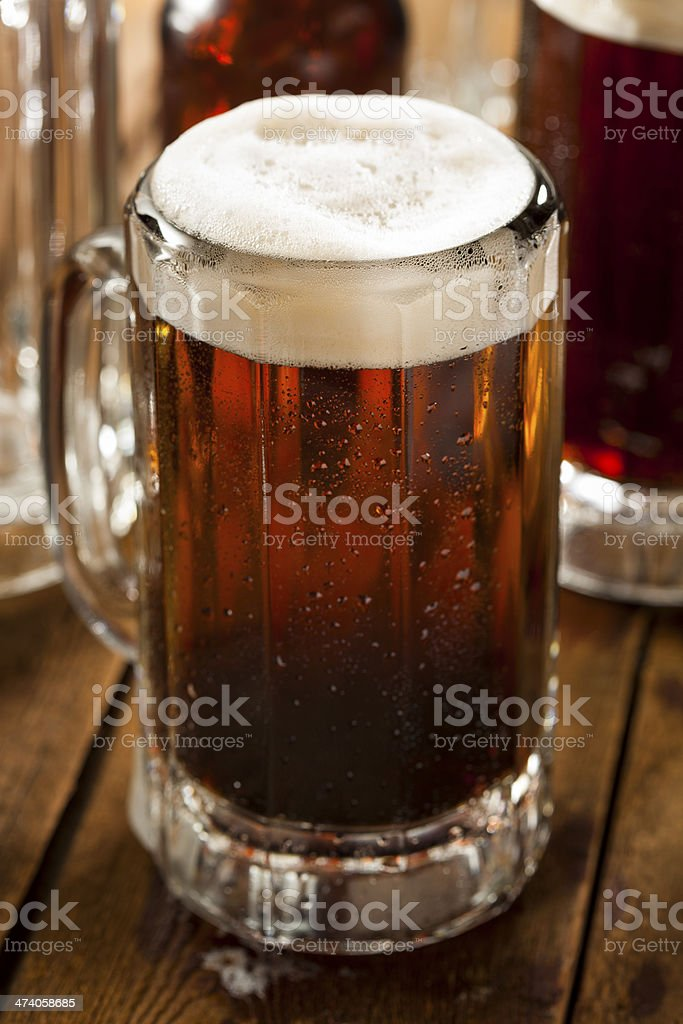Cold Refreshing Root Beer stock photo