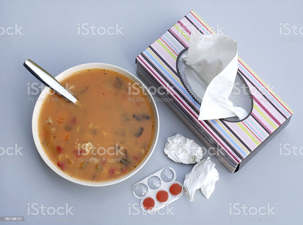 Cold Remedy stock photo