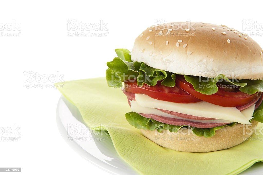 Cold sandwiches royalty-free stock photo