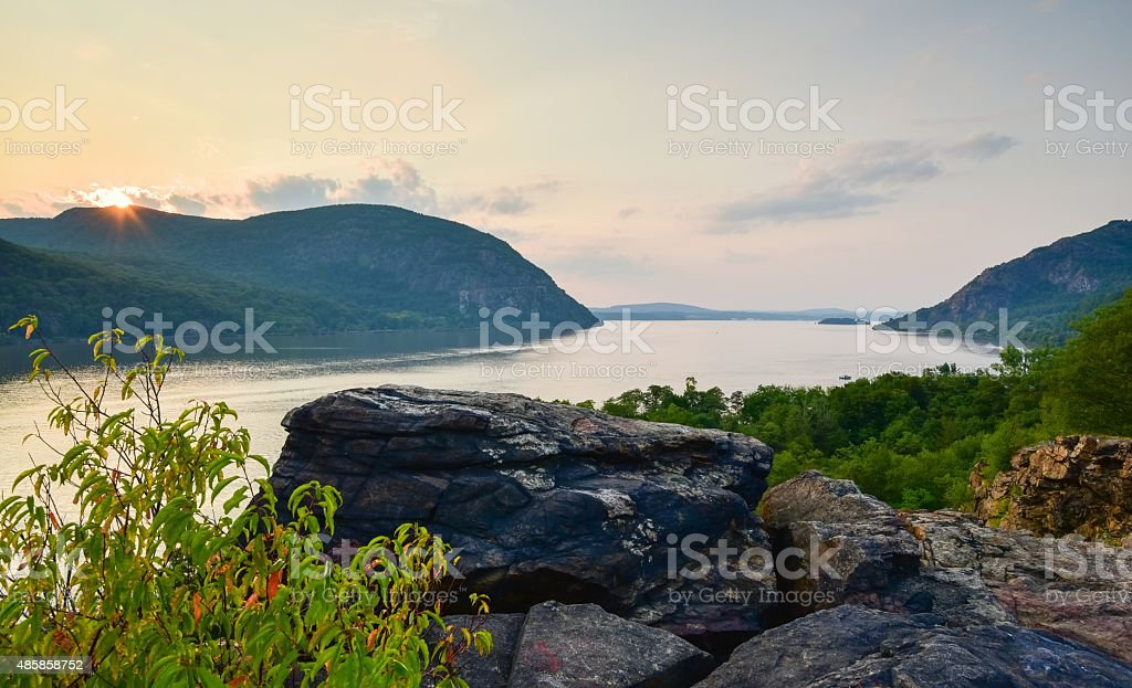 Cold Spring, Little Stony Point New York stock photo