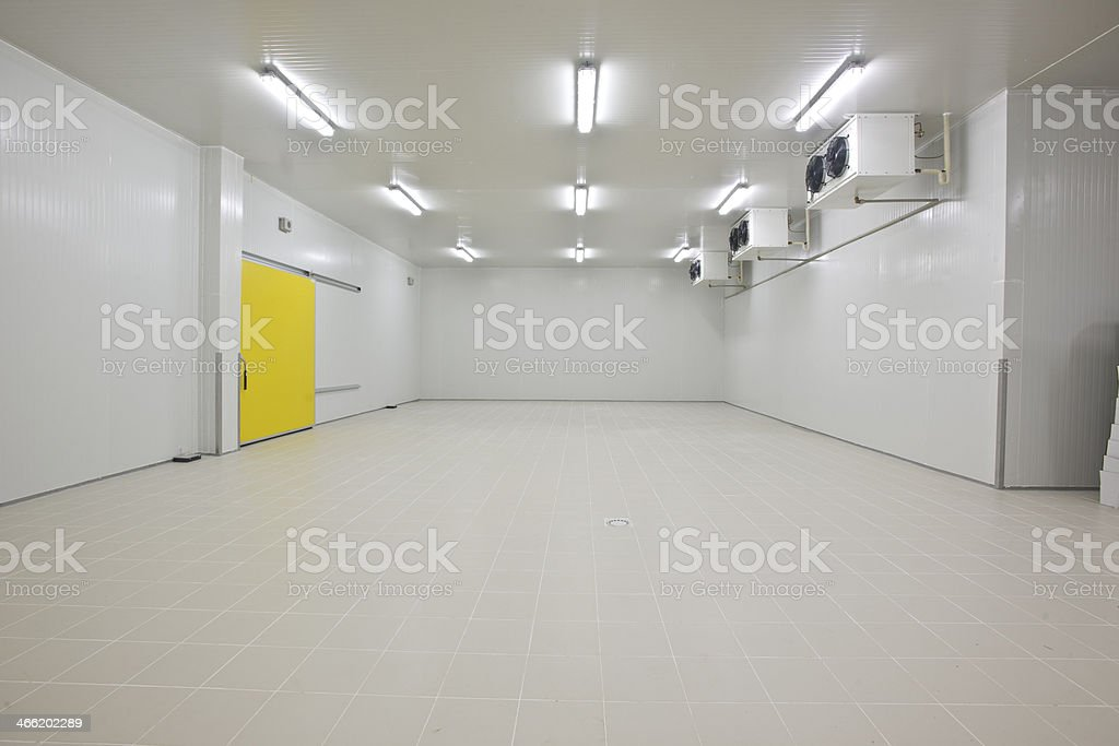 cold storage stock photo