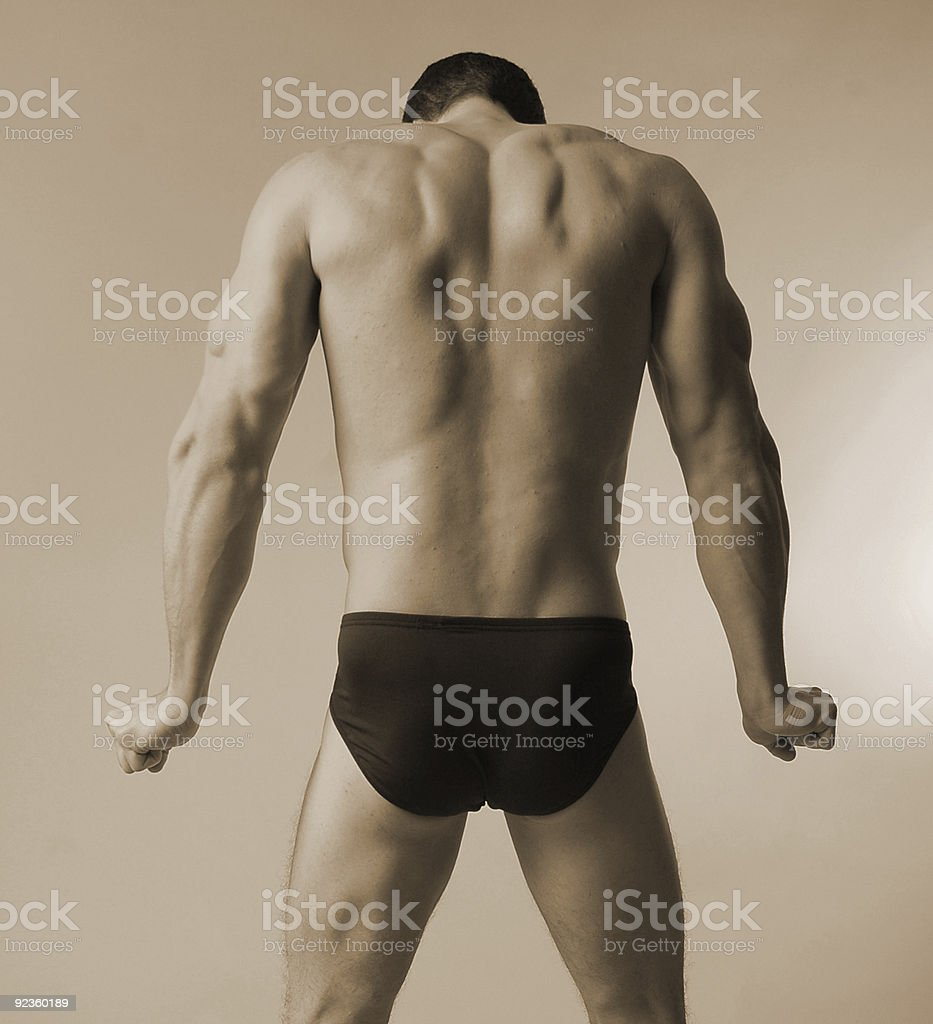 cold swimmer royalty-free stock photo