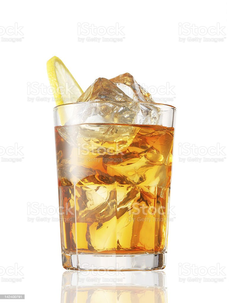 cold tea stock photo