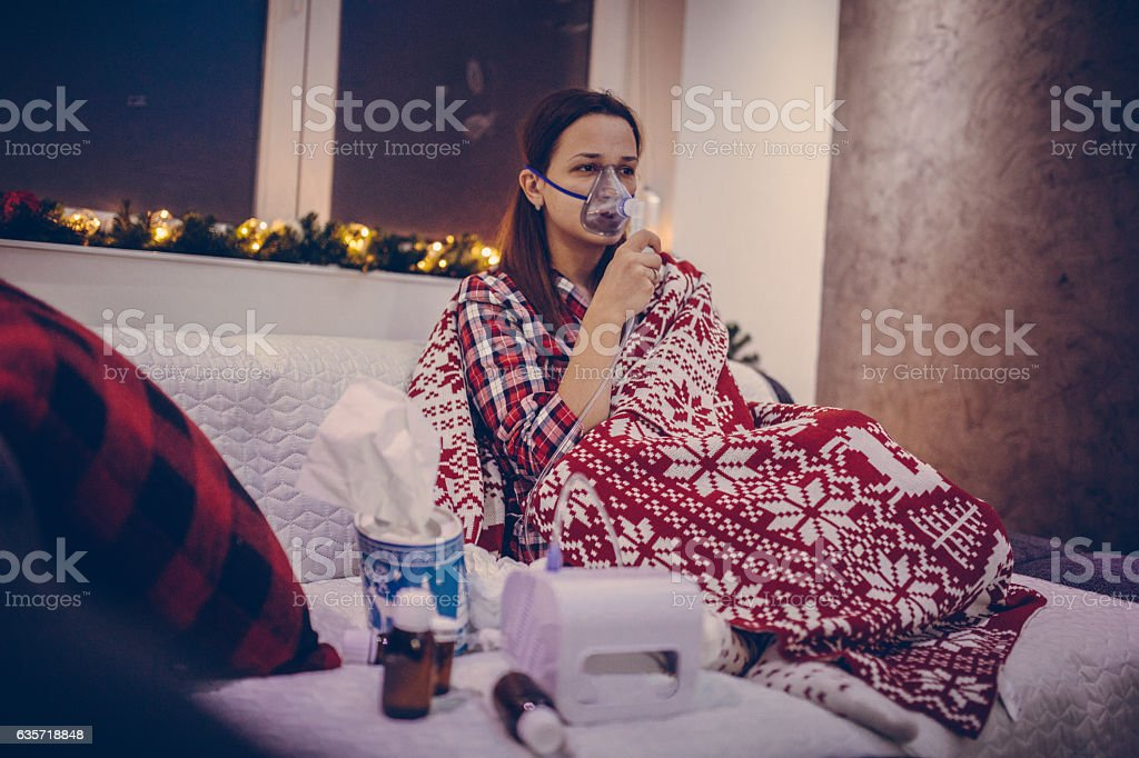 Cold time stock photo