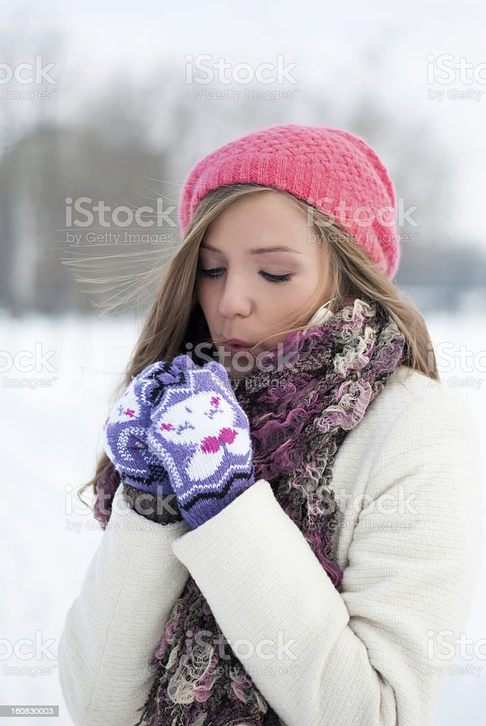 cold, warm me royalty-free stock photo