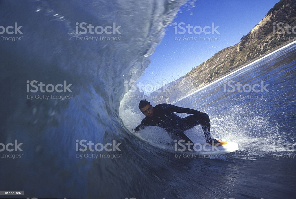 cold wave stock photo
