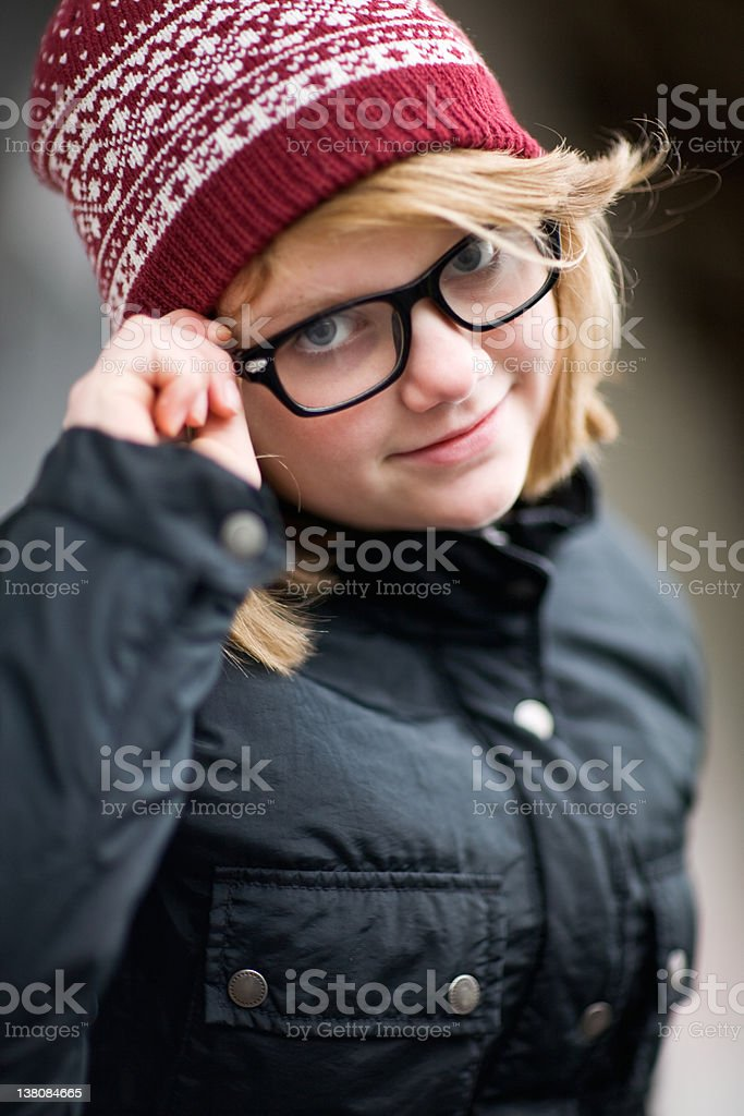 Cold Weather royalty-free stock photo